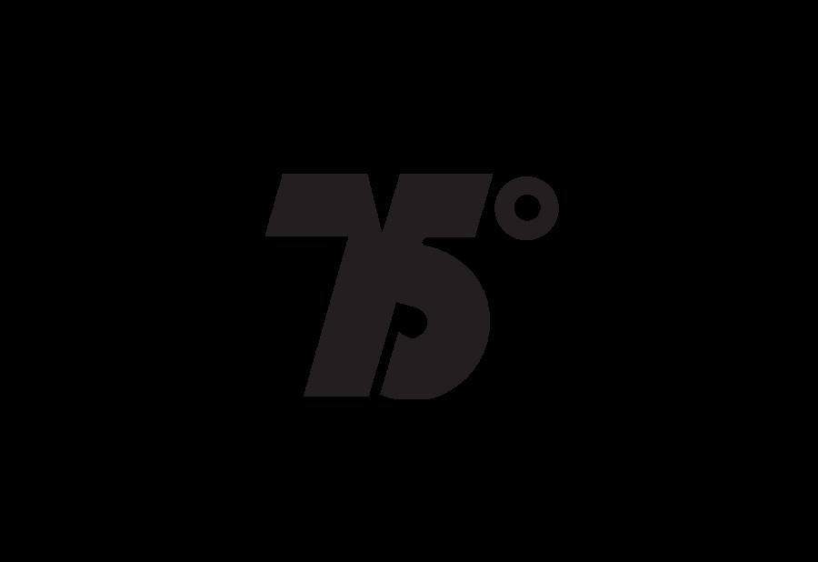 75 grados